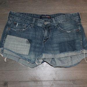 Patchwork Levi's Jean Shorts - Size 9